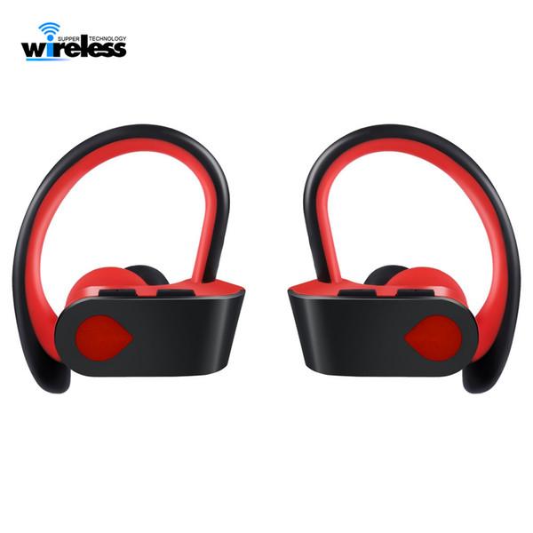 TWS 3 Kablosuz Bluetooth Kulaklık Kulaklık Kulak Spor kulak kancası iphone samsung için kablosuz Kulaklık Kulakiçi kulaklıklar