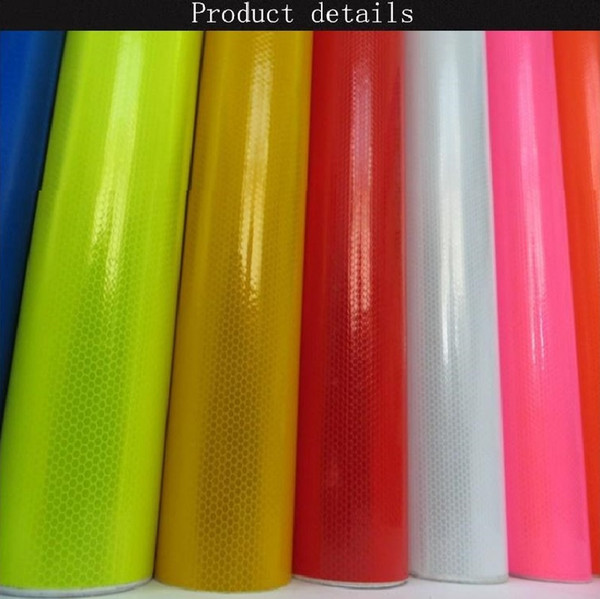 best selling 1.22M*45M High Visibility PVC Microprism Engineering Reflective Sheeting Self-adhesive PVC Reflective Film For Road Traffic Warning Sign