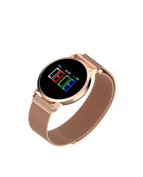 Новые F1 Pro Смарт-Часы Спорт Фитнес-Трекер Наручные Часы Сердечного Ритма Браслет Поддержка Android