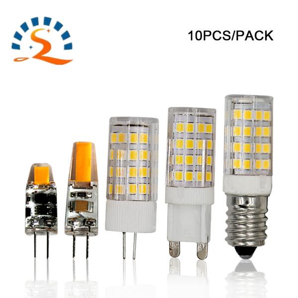 G4 G9 E14 E12 Ampoule LED de maïs 3w 6W 5w 7W 9W 12v 220v 110v Lampe en cristal Lustre Spotlight ampoule blanc chaud