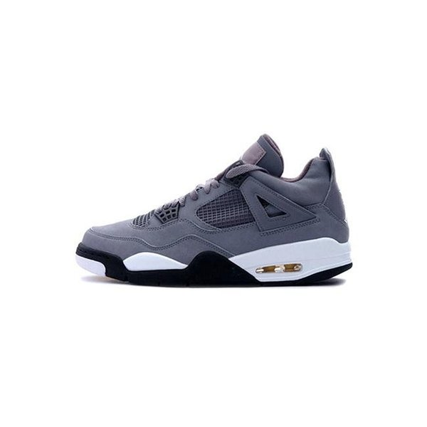 Cheap mens Jumpman 4s basketball shoes j4 Cool Grey What the White Blue Red Black new air flight retro sneakers tennis with box size 7 12