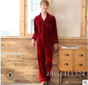 2019 Autumn Winter Women's Three-layer thick Diamond Velvet Quilted Pajamas Long Cotton Jacket Home Service Flannel Cartoon Suit