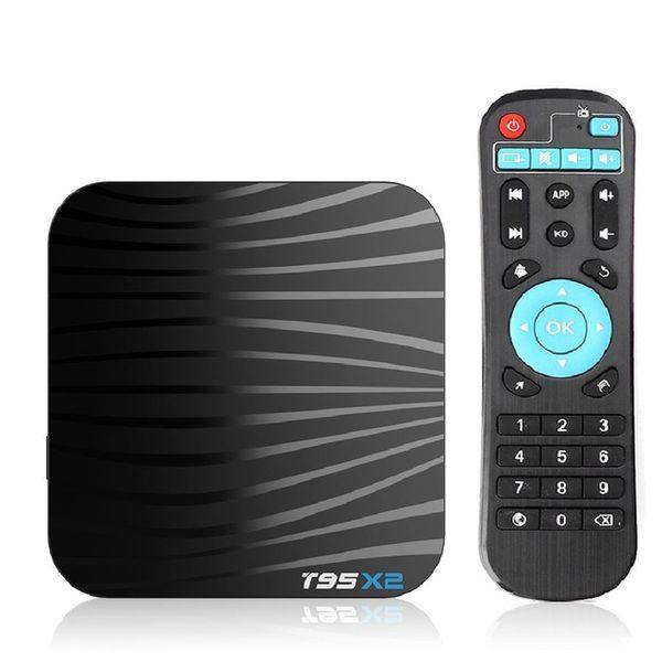 T95X2 Android 8.1 Tv box 2G 16G 4GB 32GB Amlogic S905X2 Smart TV Quad Core 2.4G Wifi Media Player T95 X2