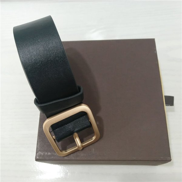 designer belts mens luxury belts womens designer belt leather business belts big gold buckle shipping with Box 1651518