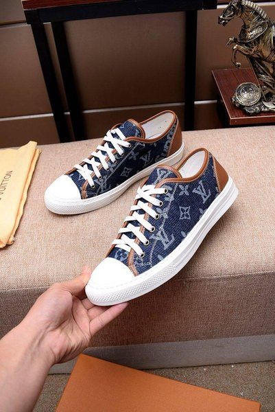 2019g high-quality luxury men's casual shoes, lace fashion outdoor sports shoes, send the original packaging shoe box DHL delivery