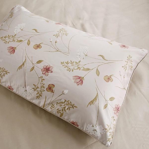 100% algodón egipcio 600 TC impreso A + colores lisos teñidos B fundas de almohada 48 x 74 cm 2 piezas en venta funda de almohada