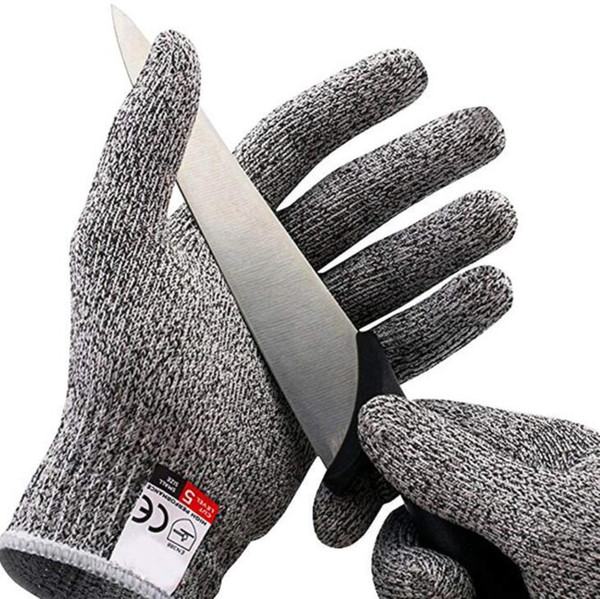 Cut Resistant Gloves Kitchen Glove with Food Grade Level 5 safety Hand Protection Light-weight Work Gloves christmas gifts for housewife hot