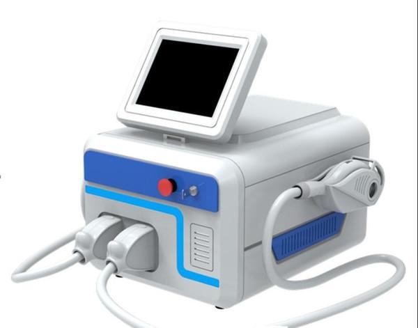 Depilação Permanente Shr Máquina de E-luz IPL Laser multifuncional Máquina / double máquina portátil Cabeça