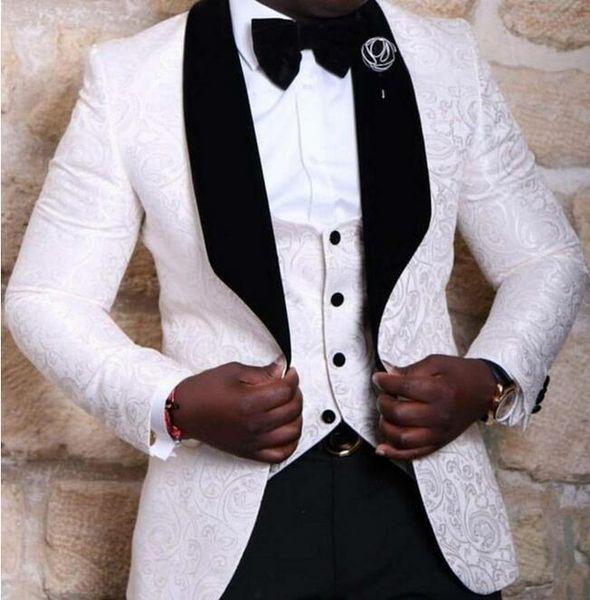 Al por mayor de 2017 hombres del juego los juegos de pantalones de la marca de Hombres de Negocios del estilo occidental vestidos formales de los hombres del partido Trajes de boda