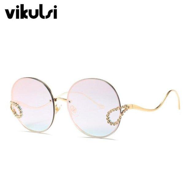 Lenses Color:D817 C4 pink mirror