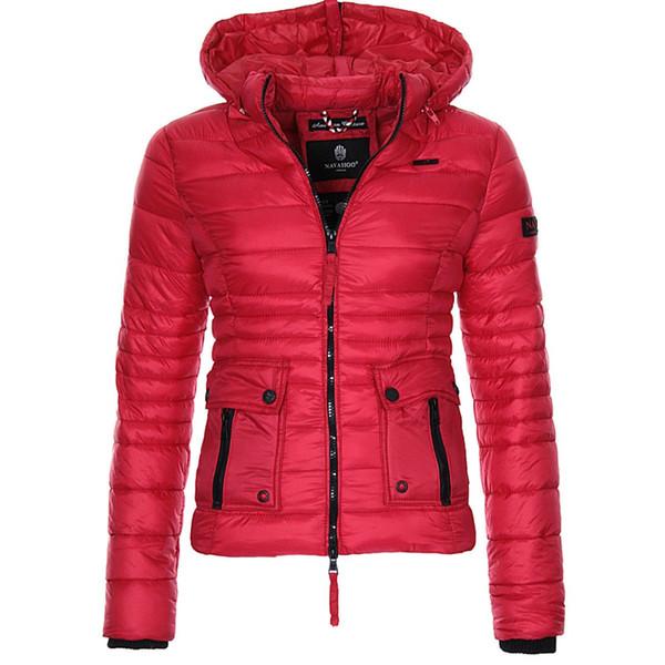 ZOGAA 겨울 파커 스 Women 's Warmth Coats 퍼퍼 자켓 파카 여성 Outwear Women Parkas 패션 슬림 피트 솔리드 코트