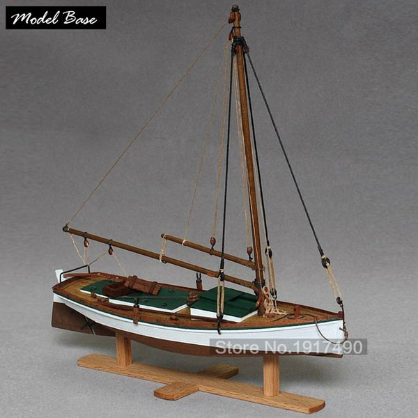 top popular Wooden Ships Models Kits Boats Ship Model Kit Sailboat Scale 1 35 Model Hot Toys Hobby Maket Patrol Wooden Model-Ship-Assembly Y190530 2020