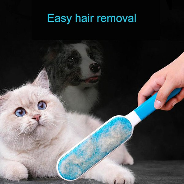 Dog Comb Tool Pet Hair Remover Static Brush Magic Fur Cleaning Brushes Reusable Device Dust Brush Electrostatic Dust Cleaners