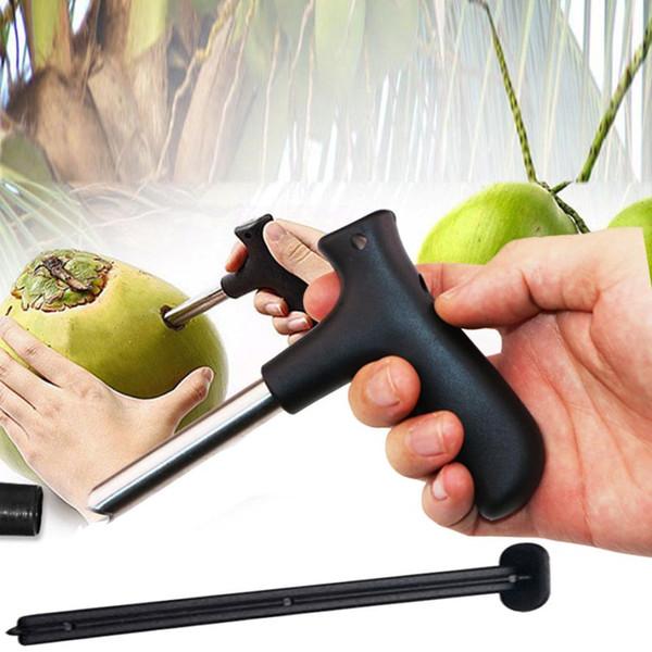 Couteau d'outil de forage de cuisine en acier inoxydable ouvreur de noix de coco Party Coco Gadgets