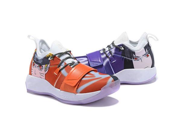 Yeni 2019 Gelmesi Renk Ejderha Paul George 2.5 Pg Ii Ep Yol ustası Erkek Basketbol Ayakkabıları Pg2.5 2.5 s Yeşil Siyah Rahat Spor Sneakers 40-46