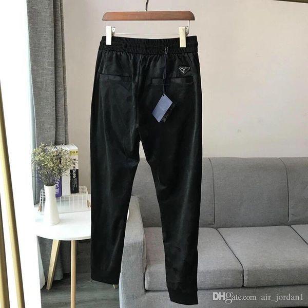 top popular 19ss New Arrival Paris PRA Designer logo Pants Long elastic waist track Trousers Men Women fashion sport Jogger Sweatpants Outdoor Pants 2019