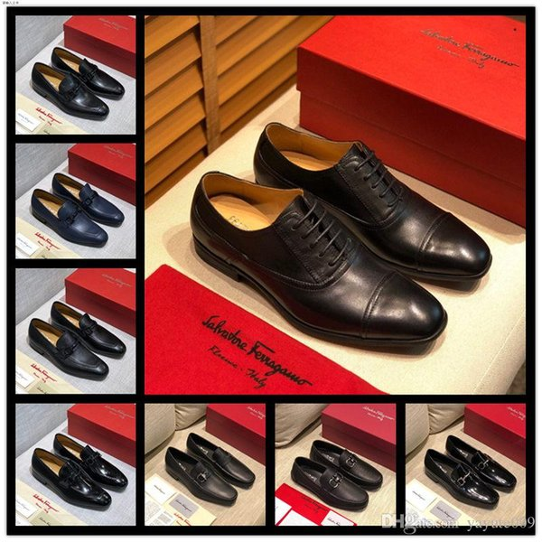 A10 16 style mens shoes casual plus size leather luxury design social driving adult fashion dress moccasins men loafers