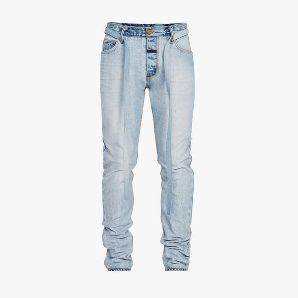 men fashions High Street Zipper Fly Dark biker jeans men mens skinny jeans