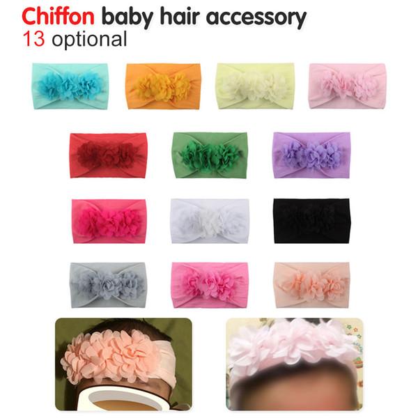 повязка на голову для новорожденных младенцев аксессуары для волос цветок для новорожденных головные уборы тиара повязка на голову обруч для волос подарок малышам луки одежда