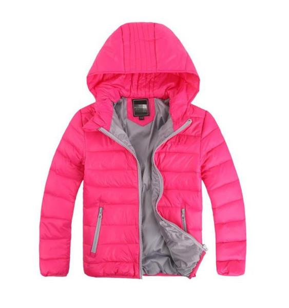 3-12 Yıl çocuk Giyim Erkek Kız Kış Sıcak Kapüşonlu Ceket Çocuk Pamuk-Yastıklı Aşağı Ceket Çocuk Ceketler 2019 çocuklar kış giyim
