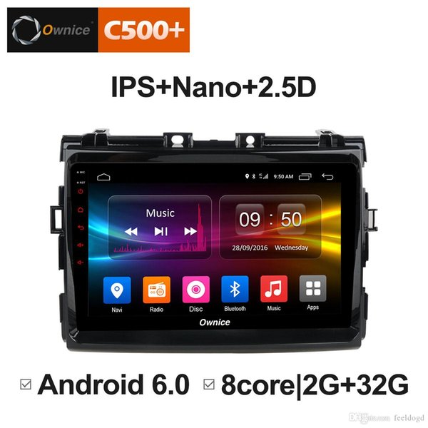 "9"" 2.5D Nano IPS Screen Android Octa Core/4G LTE Car Media Player With GPS RDS Radio/Bluetooth For Toyota Previa 2006-2012 #5874"