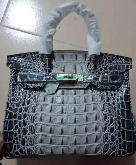 crocodile shoulder bag tote brand new emboss ostrich wholesale bride women handbag lady purse UK DE FranceTogo genuine leather bags USA EUR