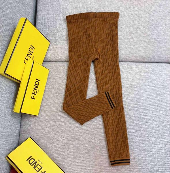 Calda più nuova primavera autunno marca F Leters popolare logo bb calzini donne sexy moda calzetteria partito club collant pantaloni per ragazza signore calza