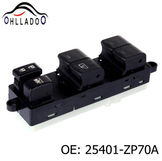 top popular HLLADO High Quality Power Window Master Switch 25401-ZP70A 25401ZP70A For 2005-2012 N issan Frontier Crew Cab Car Accessories 2021