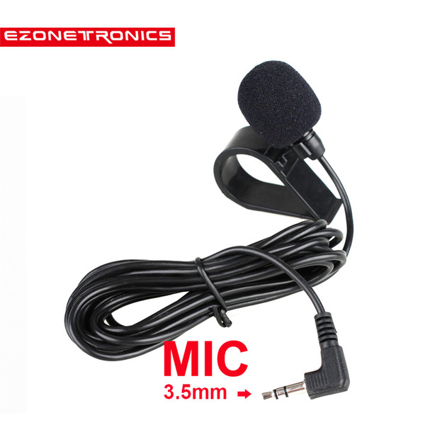 Hot Mini 3.5mm 50 Hz-20 kHz Professional Mic External Microphone for Car DVD Player Mic GPS for Bluetooth Handsfree Call 3M