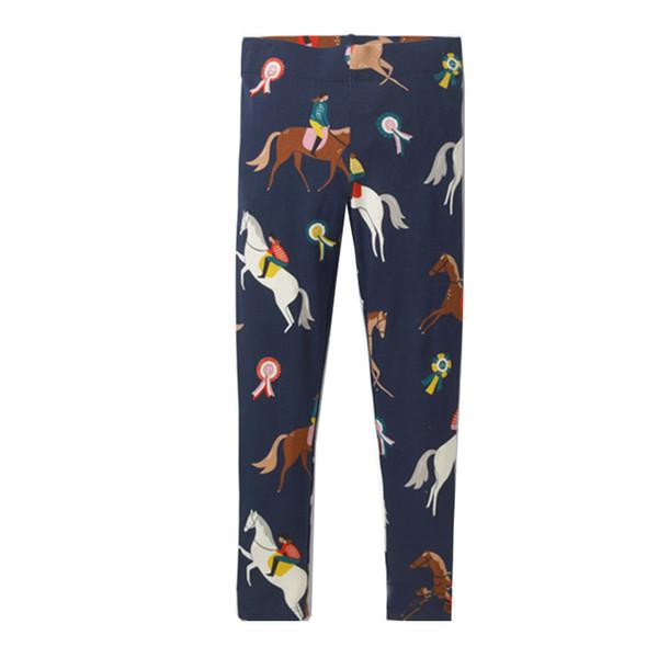Baby Leggings for Girls Pants with Animal Applique 2019 Brand Autumn Girls Leggings Children Trousers Cotton Kids Leggings 2-7T