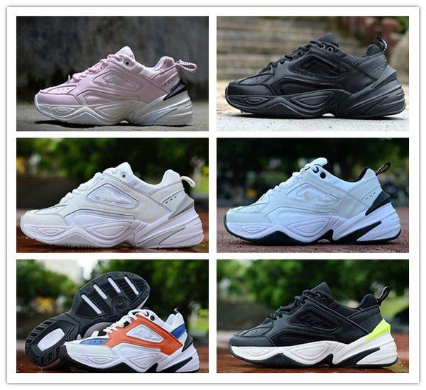 2019 Buack Monarch die chaussures nike M2K Tekno Dad Sport Laufschuhe für Top-Qualität Damen Herren Designer Zapatillas Sport Trainer Sneakers EU36-45