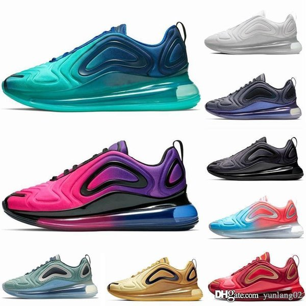 Acheter Nike Air Max 720 Nike Air Max 720 2019 Nouvelles Couleurs Hot Sale 201972C Hommes Femmes Garçons Et Filles Mode Sport RUN Sneakers Casual