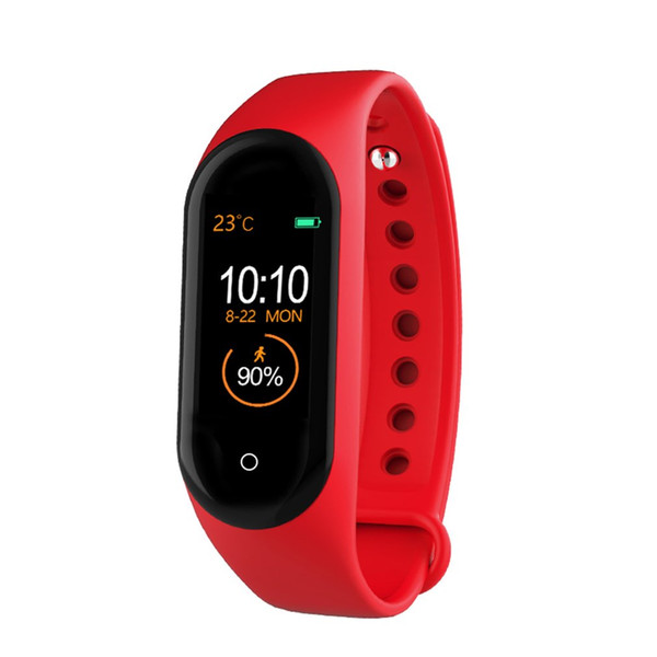 Ai Color Screen Heart Rate Sports Bracelet Can Pay By Car Smart Bracelet Alarm Clock Heart Rate Monitor Fitness Tracker