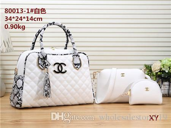 2019 styles Handbag Fashion Leather Handbags Women Tote Shoulder Bags Lady Leather Handbags Bags purse Wallet backpack 80013