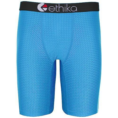 top popular wholesale Ethika Men Staple no packing series solid meshed underwear underwear skateboard street fashion streched legging quick dry 2021