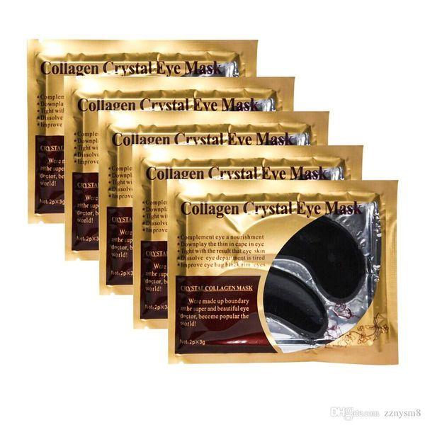New Collagen Crystal Eye Masks Moisturizing Eye Masks Masks Collagen Gold Powder Eye Mask