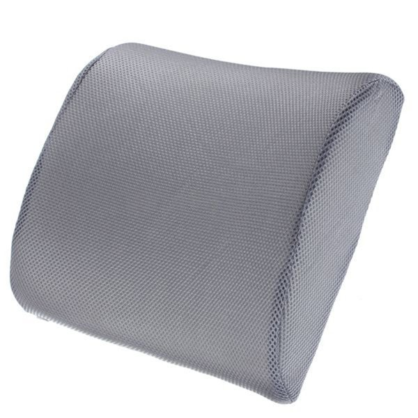 Memory Foam Cushion Lumbar Car Pillow Lower Back Pain Support For