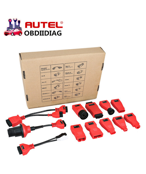 Autel DS808 ds808k Full kit Adapters/Connectors (12 pcs) help you diagnose the vehicles that produced before 2002 work on DS808