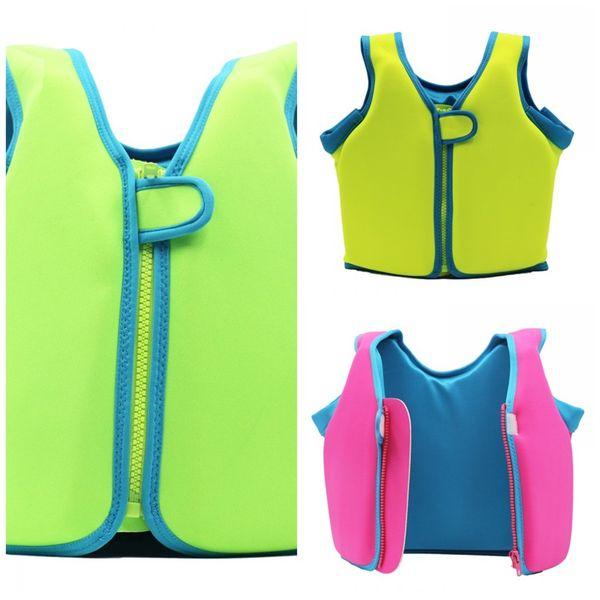 Children Fluorescence Life Vest Summer Beach Pink Popular Security Portable Boys And Girls Universal Fold Jacket Factory Direct 37wyI1