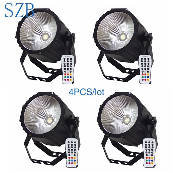 SZB 4pcs / lot 1X80W 4in1 RGBW PFEILER LED Gleichheit-Licht / SZB-PL0180