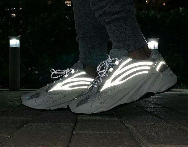 700 Wave Runner Geode Men Women Running Shoes Mauve Salt 700 V2 Static Kanye West Designer Sports Shoes Sneakers 36-46 With Box