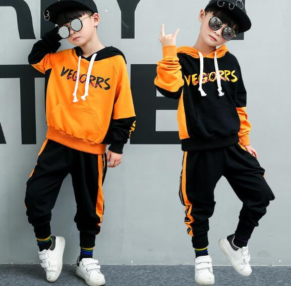 HOT SELL fashion classic Style Childrens 2019 new For Boys And Girls classic Sports Suit Baby Infant Short Sleeve Clothes Kids OBCS