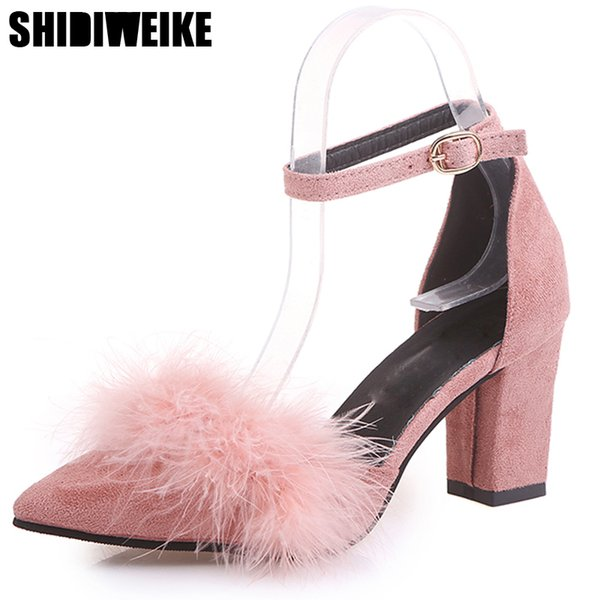 Designer Dress Shoes 2019 Spring Classic Women Pumps Pointed Toe 7.5 CM Thin High Heels Women Party Wedding Woman Sexy Ladies