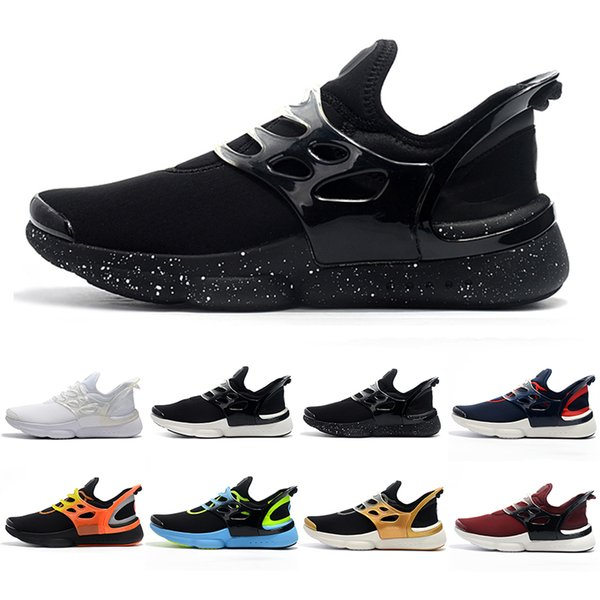 New Arrival Presto 6 Men Running Shoes Ultra BR QS tp Black White Blue Red Grey fashion breathable mens trainers designer shoes 40-45