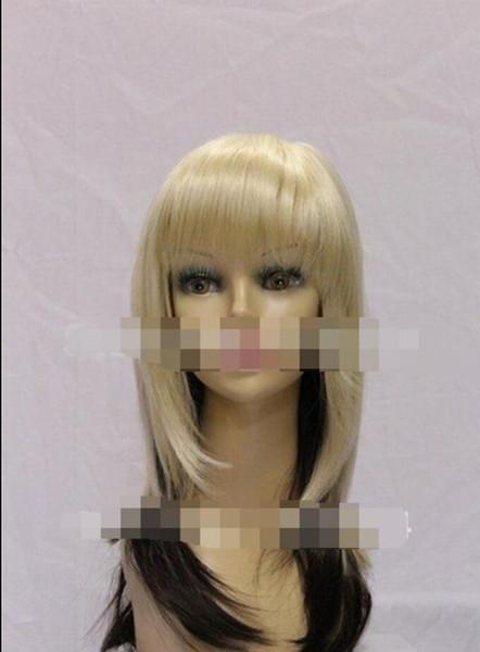 WIG LL 00689 Очаровательные длинные челки кудрявые светлые волосы микс каштановые волосы женские парики