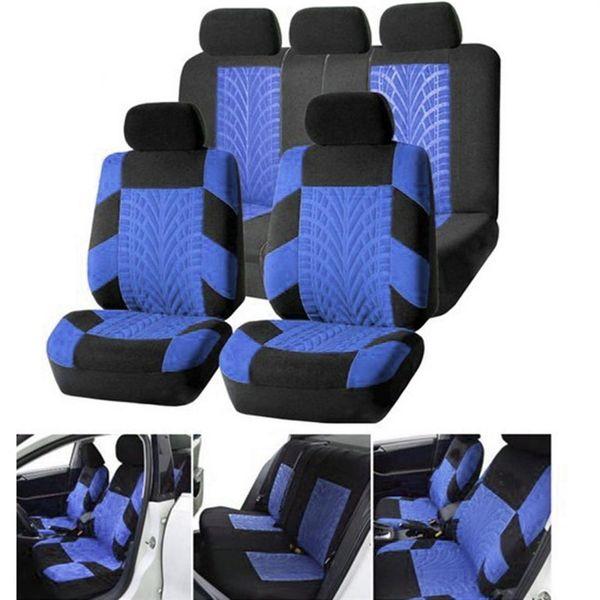 2x DACIA black headrest seat cushion protective cover