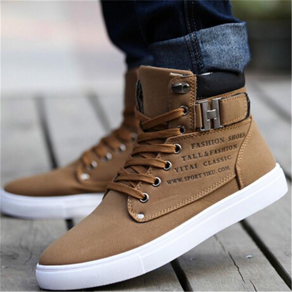 Spring Autumn Shoes Autumn Winter Warm Shoes Men Comfortable Casual Shoes Canvas Boots