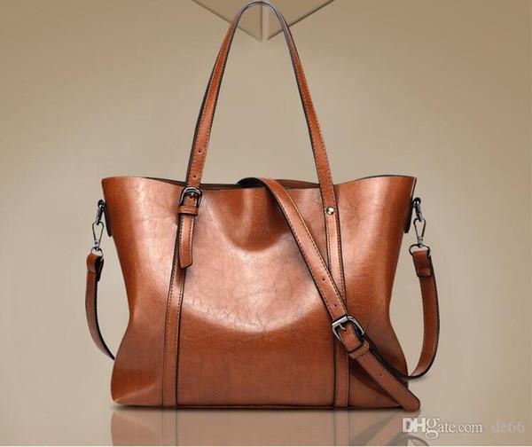 Borsa a tracolla di design in pelle ossidata di marca delle donne Borsa a tracolla di design in pelle ossidante POCHETTE meti eleganti borse a tracolla shopping pochette