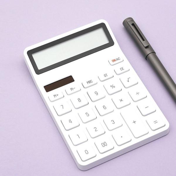 Finanza LCD Mini Ufficio Calcolatrice Elettronica Digitale portatile Accounting Desktop Calcolatrici