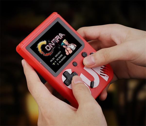 SUP El video Oyunları Konsolu Taşınabilir Retro 8 bit FC MODELI IÇIN FC 400 in 1 AV OYUNLARı Renkli Oyun Oyuncu Hediye için çocuklar için PXP3 Haber 1 ADET
